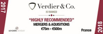 Verdier & Co.-Highly recommended-Leaders League
