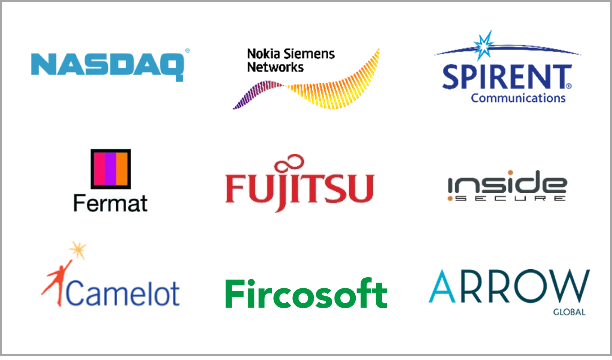 Technology, NASDAQ, Nokkia Siemens Networks, Spirent Communications, Fermat, Fujitsu, Inside Secure, Camelot, Fircosoft, Arrow Global